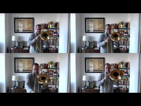 John Legend  All of Me, Arranged for Trombone Quartet