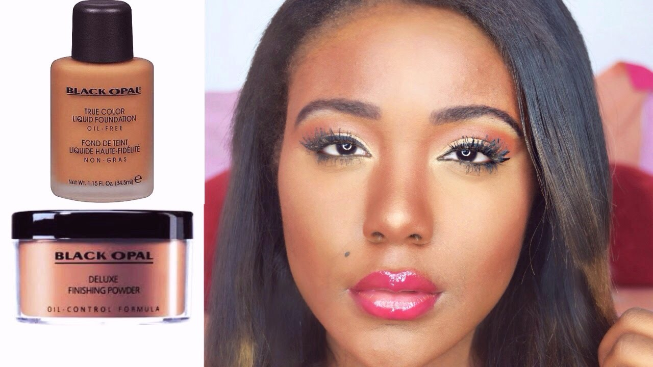 MAC FOUNDATION DUPE?! FLAWLESS SKIN ROUTINE I Black Opal