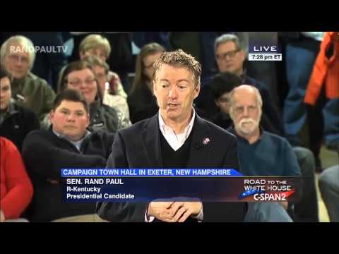 Rand Paul on the Federal Reserve and the Gold Standard | New Hampshire