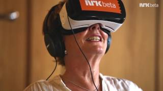 Cecilie Kjensli prøver VR-porno for første gang