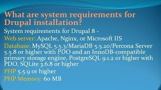 Drupal Interview Questions and Answers for freshers and experienced– Part 1