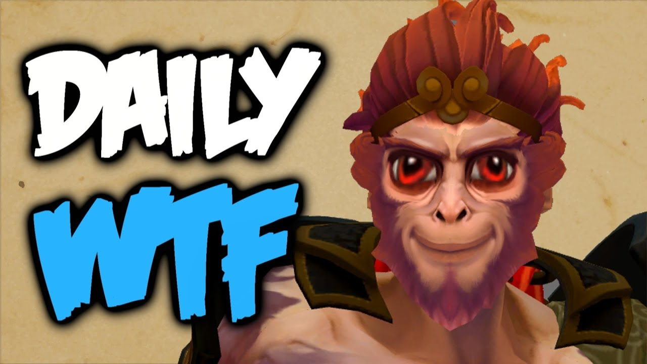 Dota 2 Daily WTF - What happened to my item на youtube