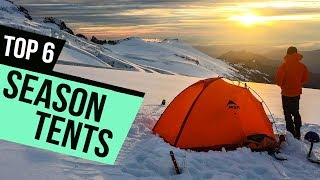 6 Best Season Tents 2018 Reviews