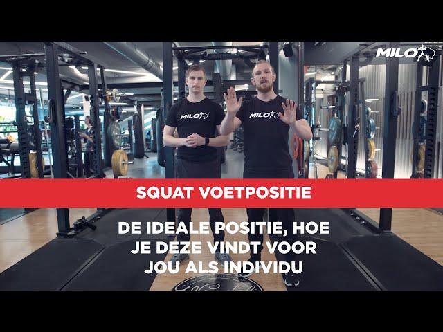 Techniek Video: Hoe bepalen we de ideale voet- en heuppositie tijdens de squat?