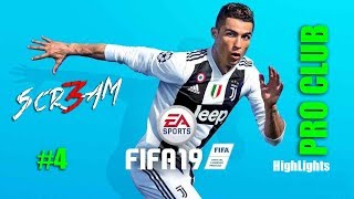 4 Scr3am Twitch Highlights 8 11 2018 Fifa 19 Pro Club PS4 By 3