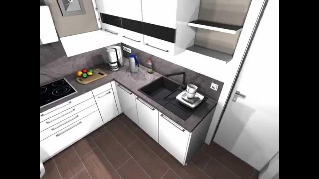 Schüller küchen weiß hochglanz  Schüller Murano Acryl hochglanz - YouTube
