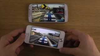 Samsung Galaxy S4 vs. iPhone 5 iOS 7 Final Public - Gaming Performance Comparison Review