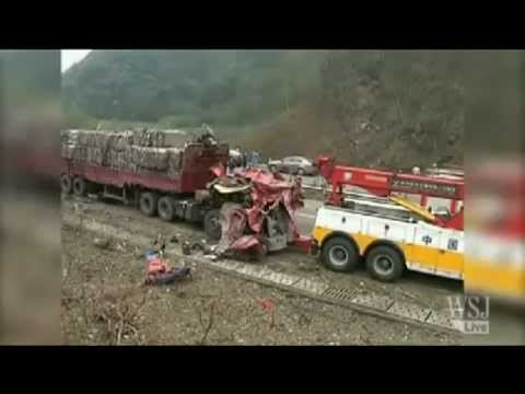 Gas Tanker Explosion - Hunan Chang-Ji Highway, China