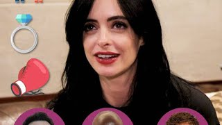 "Krysten Ritter Plays ""Date/Marry/Fight"" with the Cast of ""The Defenders"" 