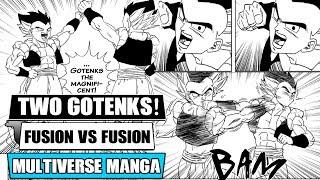 Gambar cover Dragon Ball Multiverse Chapters 14 And 15: Gotenks Vs Gotenks! Super Buus Plan (Fan Manga Review)