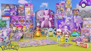 Pokemon the movie merchandise Mewtwo Strikes Back Evolution Fast Edition