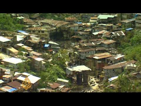 Philippines Illegal Gold Mine Brings Misfortune