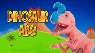 Dinosaur ABC: dino toys say ABCs alphabet from A to Z toy videos for children kids song