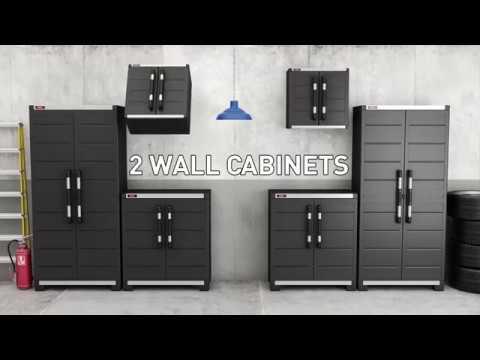 Keter Garage Set XL & Keter Garage Set XL - YouTube