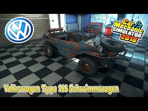[FR] Car Mechanic Simulator 2018 Restauration a 100% Volkswagen 166 Schwimmwagen Trouver à la CASSE
