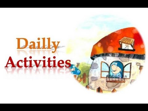 Learn Basic English Daily Activities Youtube