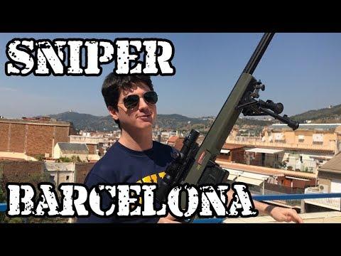 Sniper Ares AS01 Spring Direto De Barcelona - Luiz Rider - Airsoft