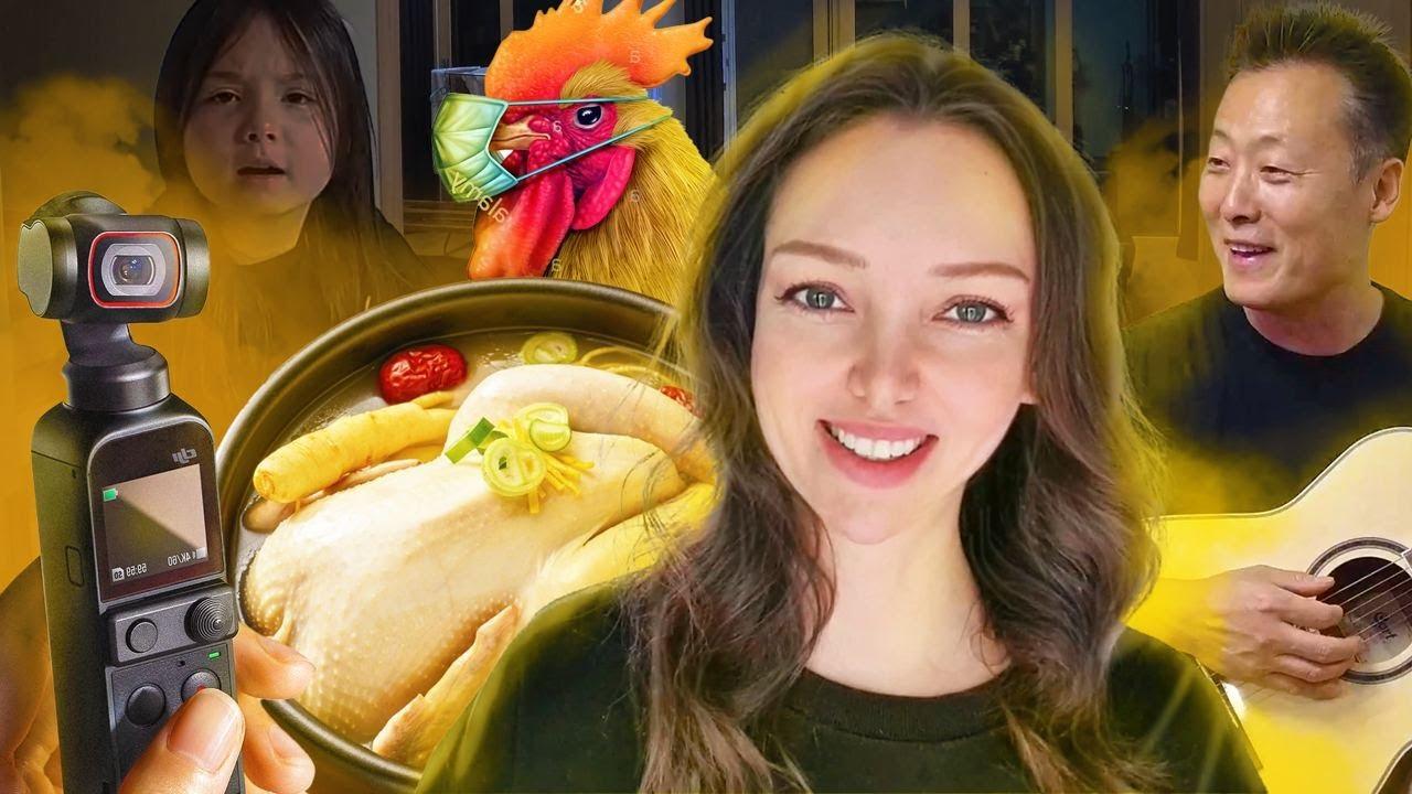 Домашний влог / Что корейцы едят в жару? Новая камера и дистанционка / KOREA VLOG /
