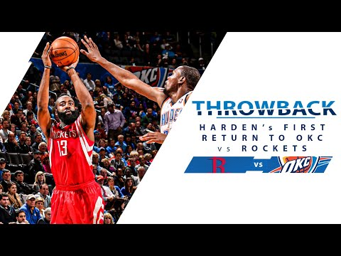 James Harden Makes His First Return to Oklahoma City | Full Classic Game - 11.28.12