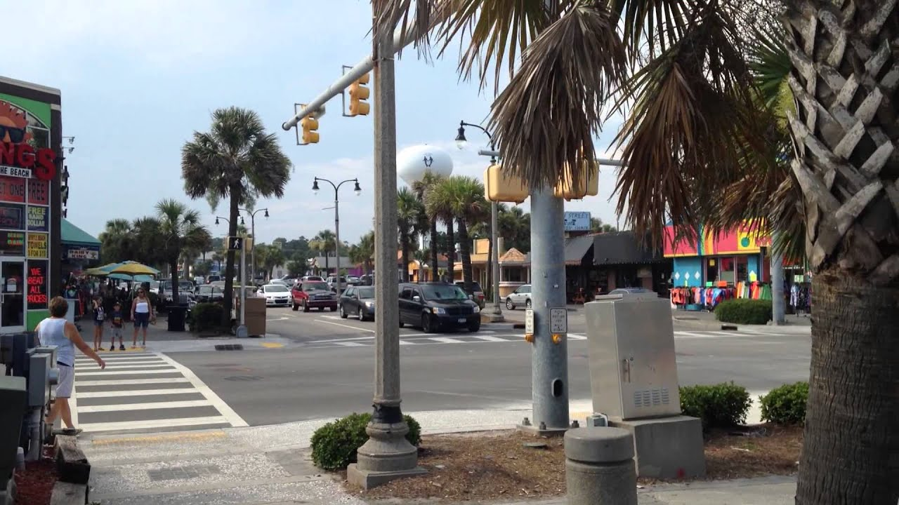 Main Street North Myrtle Beach Ocean Drive Section Coldwell Banker Chicora Real Estate