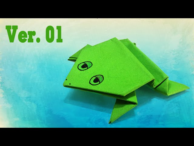 Make an origami Frog!