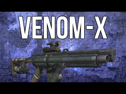 Ghosts In Depth - Venom-X Special Weapon (Damage, Radius, & How To Get)