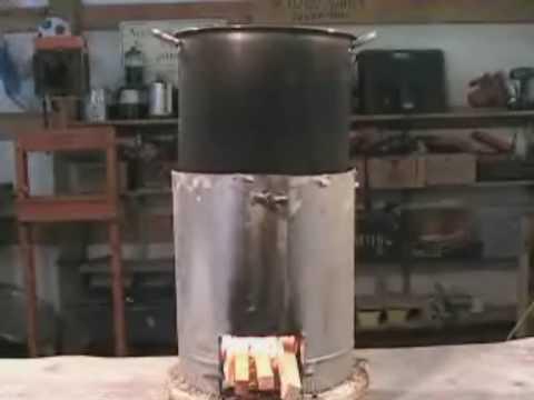 Gu a para fabricar una cocina rocket youtube for Planos para fabricar una cocina cohete