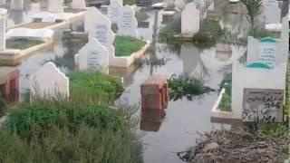 En photos Cimetière Sénia noyé février 2017
