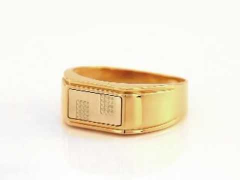 Золотая мужская печатка МК8075