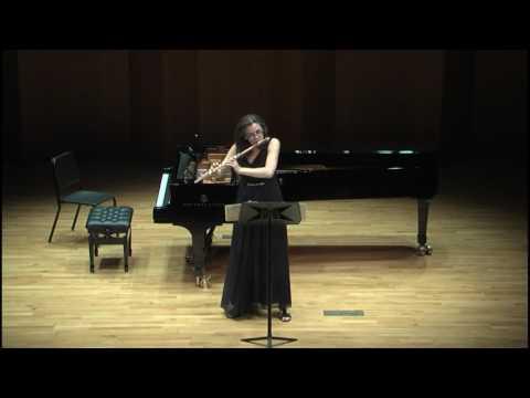 Günter Raphael, Sonata for flute solo, op. 47/7 - Andrea Lieberknecht