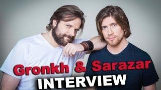 Gronkh & Sarazar über Geld, Fans und Youtube - Interview - Teil 1   Behaind