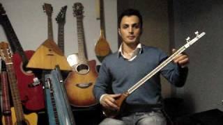 BASIC Setar Lesson Part 3(Basics)By Arash Aria آموزش مقدماتی سه تار قسمت سوم