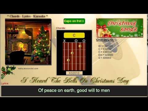 0051 i heard the bells on christmas day karaoke no vocal - I Heard The Bells On Christmas Day Chords