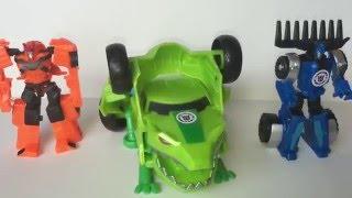 Трансформеры роботы под прикрытием! Роботы превращаются в машинки! Transformers Robots in Disguise!(Часть||. Трансформеры роботы под прикрытием! Роботы превращаются в машинки! Дрифт, Виндблейд, Тандерхуф,..., 2016-04-25T19:25:27.000Z)