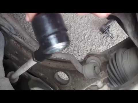 Замена рулевых наконечников Volkswagen Golf III