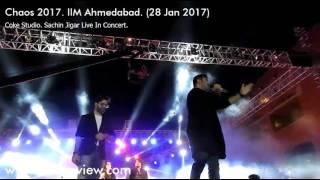 Samjhawan Song | Sachin Jigar | Chaos 2017 at IIM-A | Pro Night Fest | Coke Studio