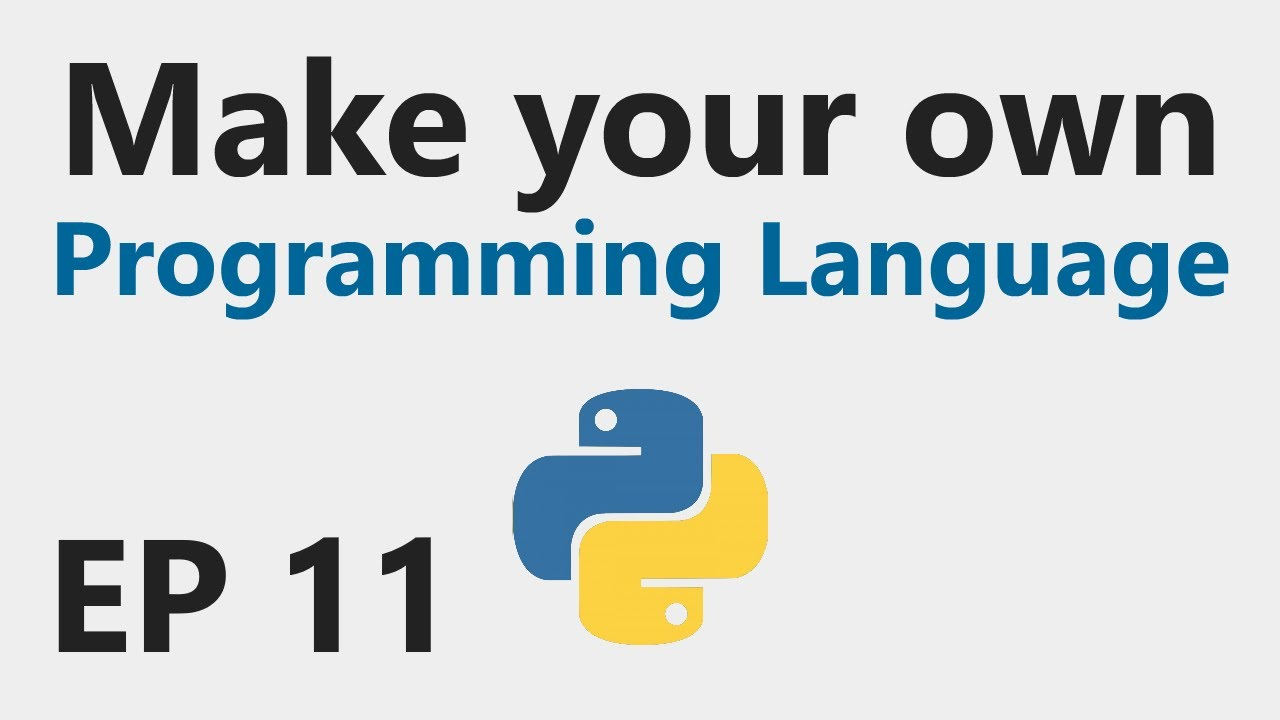 Make YOUR OWN Programming Language - EP 11 - Built-in Functions