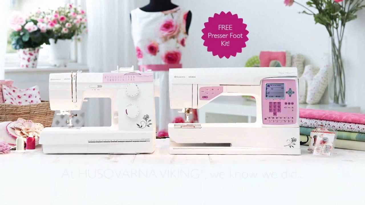 Eden rose™ sewing machines by husqvarna viking youtube