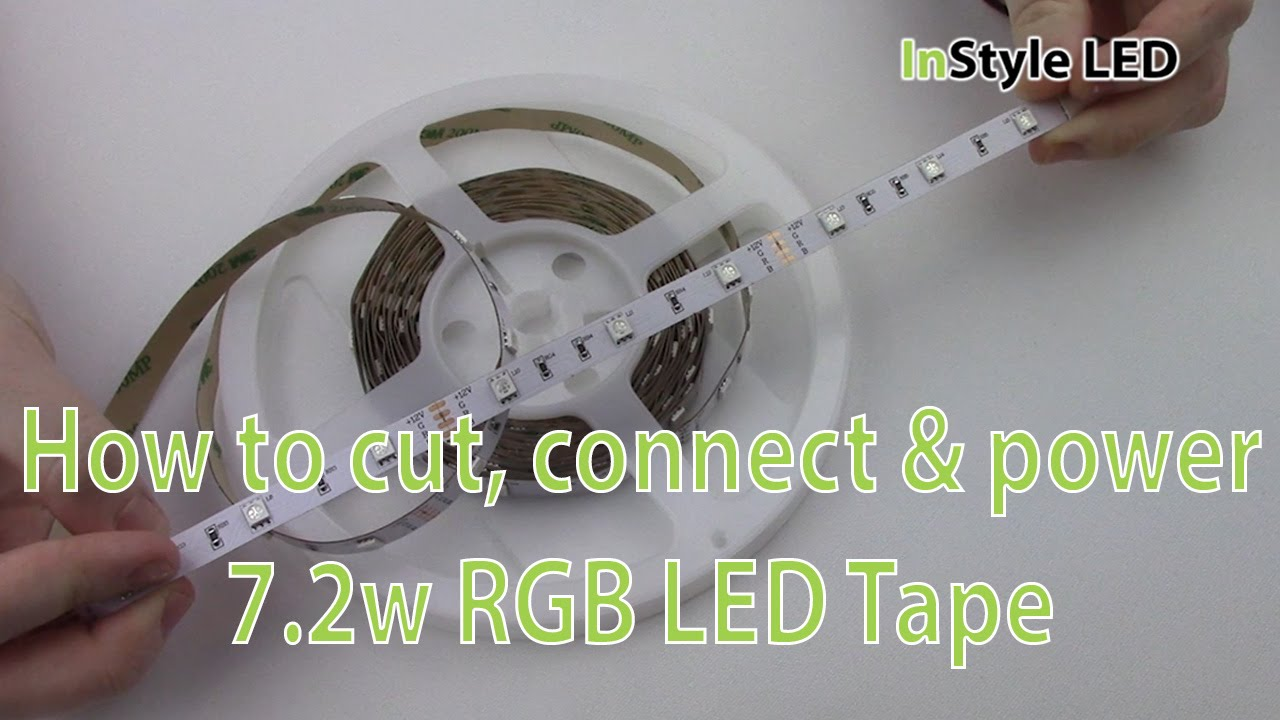 Led strip lights how to cut connect power 72w rgb led tape led strip lights how to cut connect power 72w rgb led tape aloadofball Images