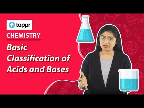 Class 7 Science Acids Bases And Salts Basic Classification Of Acids And Bases CBSE NCERT