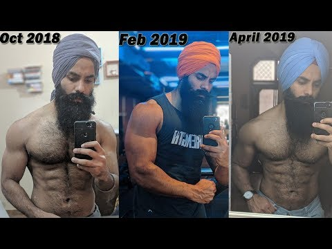 my-6-months-bulking-results||-before-&-after-physique-comparison-||daman-singh