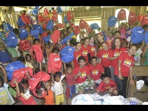 Mainstream School Supplies Drive - Outreach Program 2014