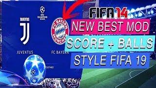 NEW  MOD UEFA CHAMPIONS LEAGUE 2019 FOR FIFA 14