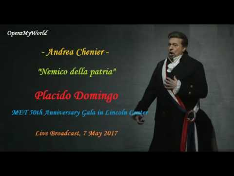 Placido Domingo Live at the 50th Anniversary MET Gala (7/5/2017)