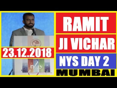 Ramit Chandana Ji Vichar on NYS Day 2 Mumbai Maharashtra || Nirankari Youth Symposium Mumbai day 2