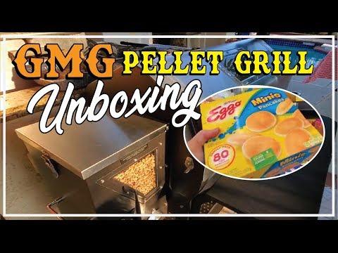 GMG Green Mountain Grill Unboxing Jim Bowie Pellet Smoker BBQ Champion Harry Soo SlapYoDaddyBBQ.com