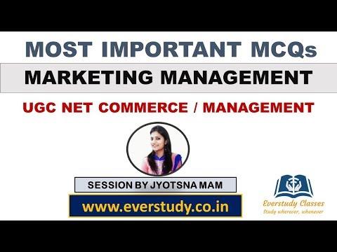 MCQs On Marketing Management