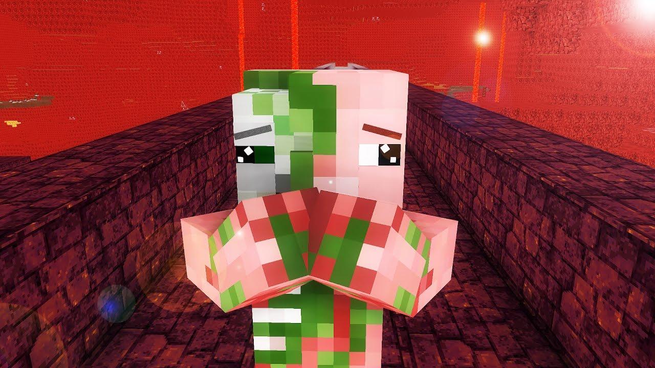 Zombie Pigman Life 11-11 - Minecraft animation