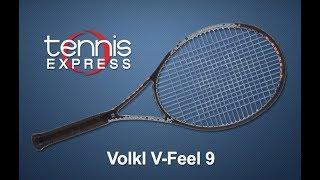 Volkl V Feel 9 Tennis Racquet Review  |  Tennis Express