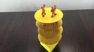 Обзор семейной игры Сырная башня / New game cheese tower